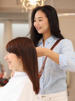 予防医学のプロの方とカウンセリングができる Sou-i hair(ソウイヘアー)川崎店